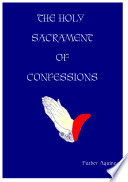 Holy Sacrament Of Confessions Book