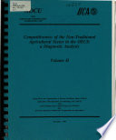 Competitiveness Of The Non Traditional Agricultural Sector In The Oecs A Diagnostic Analysis Volume Ii Book PDF