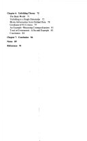 Unidimensional Scaling