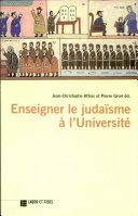 Enseigner le judaïsme à l'université
