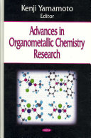 Advances in Organometallic Chemistry Research