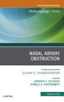 Nasal Airway Obstruction, An Issue of Otolaryngologic Clinics of North America, Ebook