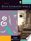 Piano Literature   Book 1  Developing Artist Original Keyboard Classics