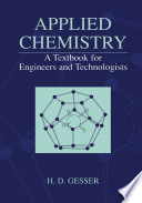 Applied Chemistry  A Textbook for Engineers and Technologists