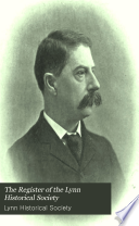 The Register Of The Lynn Historical Society