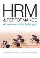 HRM and Performance Pdf/ePub eBook