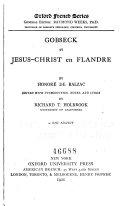 Gobseck et Jésus-Christ en Flandre