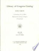 Subject Catalog