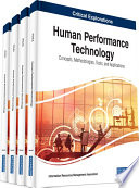 Human Performance Technology Concepts Methodologies Tools And Applications