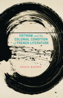 Pdf Vietnam and the Colonial Condition of French Literature Telecharger