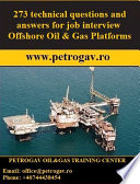 273 technical questions and answers for job interview Offshore Oil   Gas Platforms