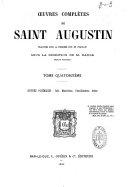 Oeuvres complètes de Saint Augustin
