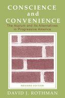 Conscience and Convenience Pdf/ePub eBook