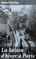 Pdf La Saison d'hiver à Paris Telecharger