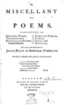A Miscellany of Poems