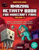 Amazing Activity Book for Minecraft Fans