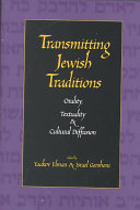 Transmitting Jewish Traditions
