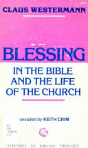 Blessing In The Bible And The Life Of The Church