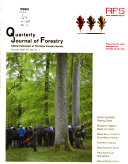 Quarterly Journal of Forestry