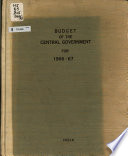 Budget - Government of India, Ministry of Finance