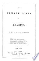 The Female Poets of America ... Second Edition