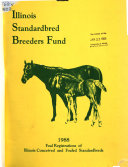 Foal Registrations Of Illinois Conceived And Foaled Standardbreds