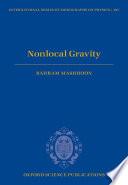 Nonlocal Gravity