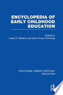 Encyclopedia of Early Childhood Education Book