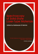 Spectroscopy of Solid-State Laser-Type Materials Pdf/ePub eBook