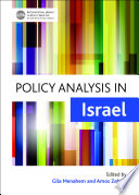 Policy Analysis In Israel
