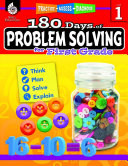 180 Days of Problem Solving for First Grade: Practice, Assess, Diagnose