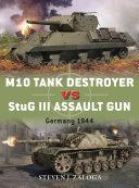 M10 Tank Destroyer vs StuG III Assault Gun