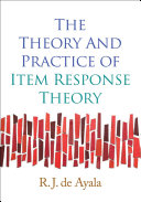 Pdf The Theory and Practice of Item Response Theory