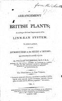 An Arrangement of British Plants     Third edition