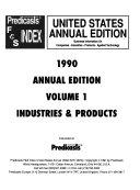 Predicasts F   S Index United States Book