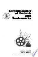 Commissioner Of Patents And Trademarks Annual Report