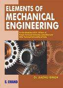 Elements of Mechanical.Engineering (PTU) Pdf/ePub eBook