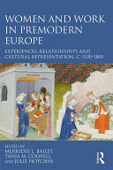 Pdf Women and Work in Premodern Europe Telecharger