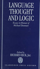 Language  Thought  and Logic