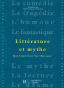 Pdf Littérature et Mythe - Edition 2001 Telecharger