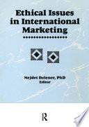 Ethical Issues in International Marketing - Nejdet Delener ...