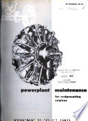 Powerplant Maintenance for Reciprocating Engines