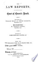 The Law Reports  Court of Queen s Bench