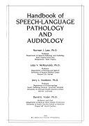 Handbook of Speech language Pathology and Audiology Book