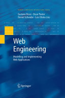 Web Engineering  Modelling and Implementing Web Applications