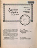 American Classical Review Book