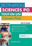Pdf Destination Sciences Po - Tout-en-un - Concours Paris 2019-2020 Telecharger