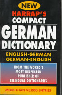 Harrap s Compact German Dictionary