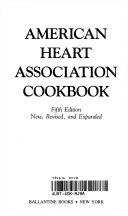 The American Heart Association Cookbook Book PDF