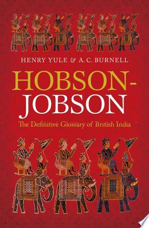 Download Hobson-Jobson Free Books - Dlebooks.net